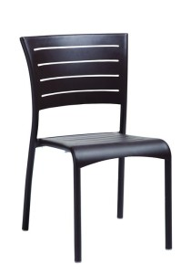 ESSO SIDE CHAIR-CHARCOAL 2M1328