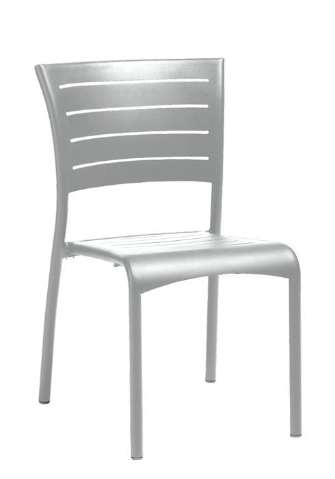 ESSO SIDE CHAIR-SILVER 2M1328