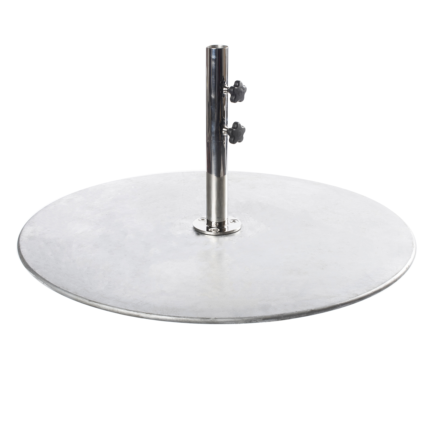 36″ Round Galvanized Steel Plate Base