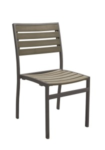 JADO SIDE CHAIR-CHARCOAL 2J1328