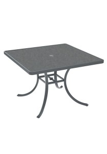RADUNO 42″ SQUARE HPL UMBRELLA TABLE 1877HU