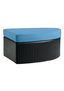 CURVED OTTOMAN 610708CO