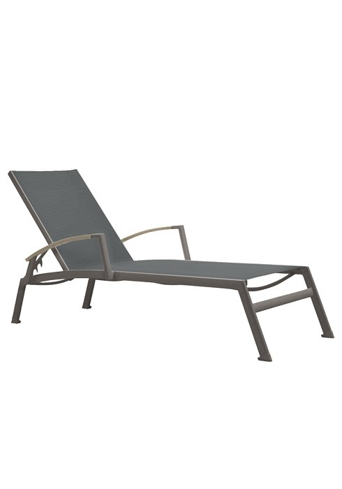 SONO CHAISE WITH ARMS-CHARCOAL 2A1332