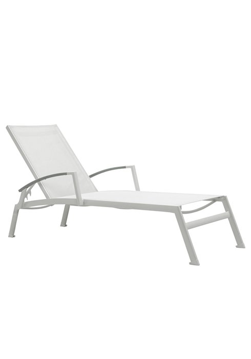 SONO CHAISE WITH ARMS-SILVER 2A1332