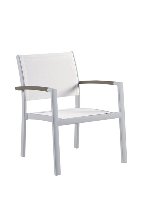 SONO LOUNGE CHAIR-SILVER 2A3111