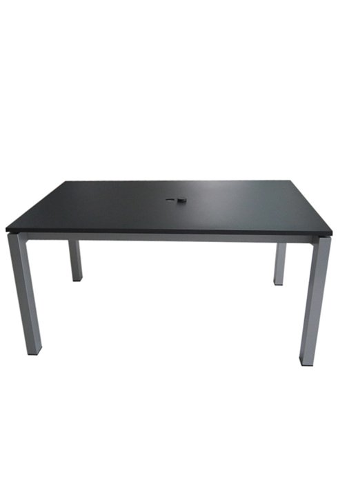 63X39″ RECT UMBRELLA TABLE-CHARCOAL 2B1366U
