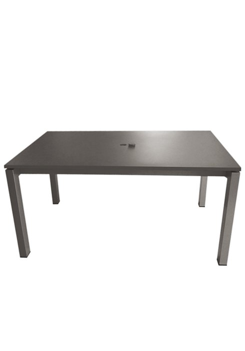 83X39″ RECT UMBRELLA TABLE-CHARCOAL 2B1385U