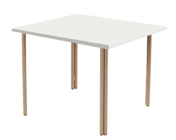36″ SQ FIBERGLASS ADA TABLE WT3602F-HD $299.00