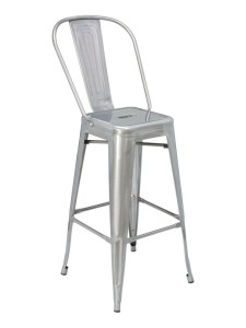 CAYMAN BAR STOOL-RED/GAL RC3049 $119.00