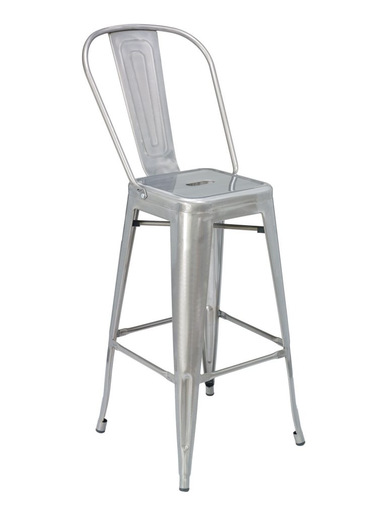 CAYMAN BAR STOOL-RED/GAL RC3049 $89.00