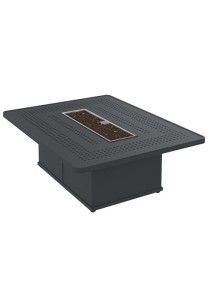 BOULEVARD 54″ RECT FIRE PIT SHOWN IN GRAPHITE SB5442FPM-18