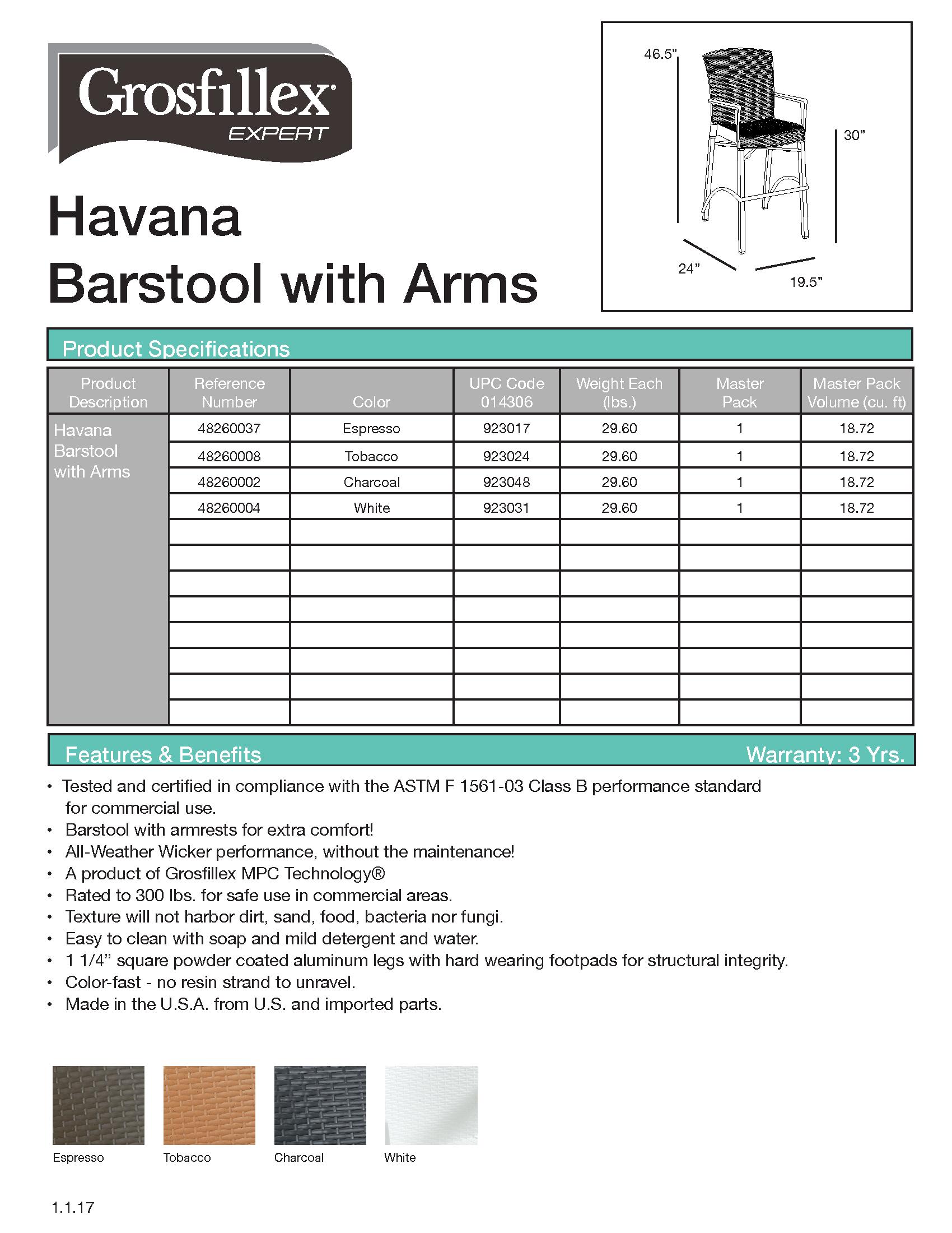Havana Barstool