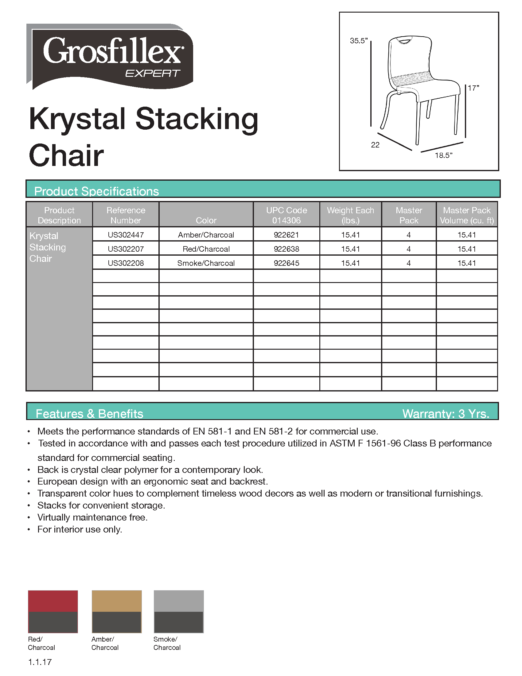 Krystal Chair