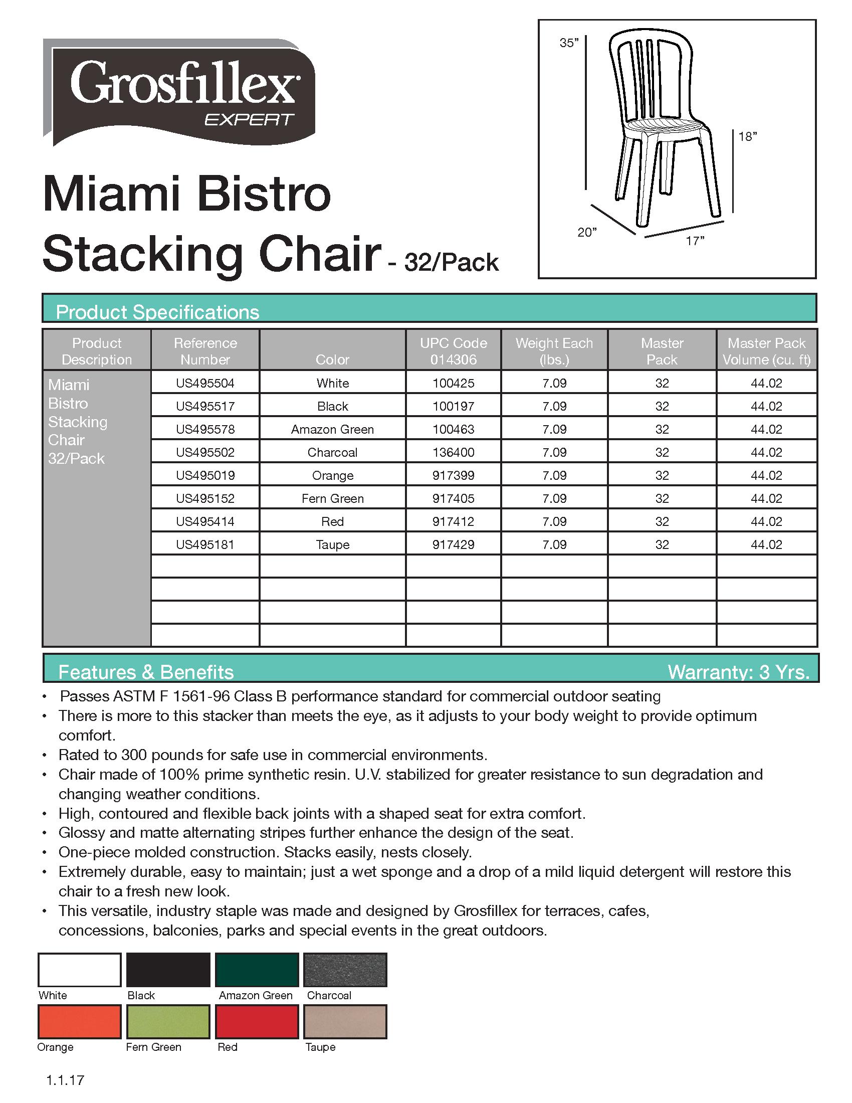 Miami Bistro 32-pack