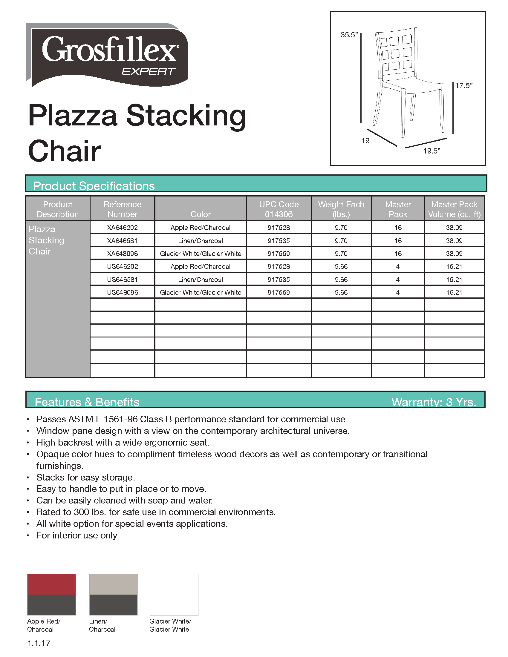 Plazza Chair