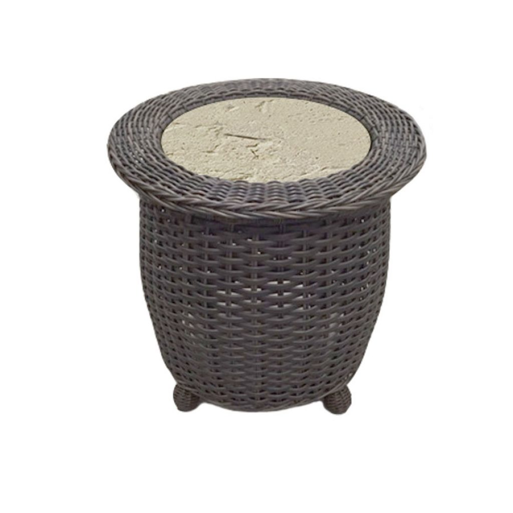 AVALON CERAMIC GLASS END TABLE RC1656 $330.00