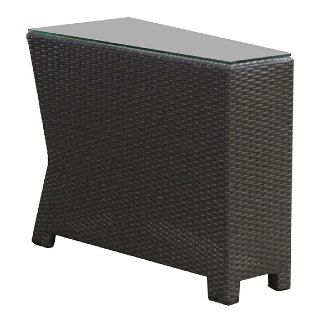 VENICE WEDGE END TABLE RC908  $240.00