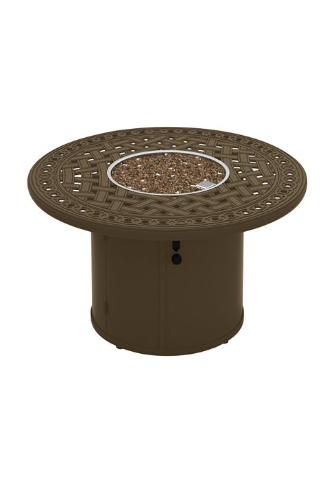 GARDEN TERRACE 43″ ROUND FIRE PIT. SHOWN IN KAFFEE 821486FP