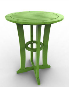 LAGUNA 30″ BAR TABLE MLAG-DT30B $429.00 CLICK FOR AVAILABLE COLORS