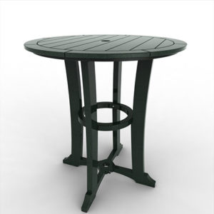 LAGUNA 36″ BAR TABLE MLAG-DT36B $559.00 CLICK FOR AVAILABLE COLORS