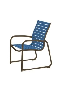 MILLENNIA EZ SPAN SLED BASE DINING CHAIR-RIBBON 9525RB