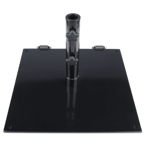Steel Base 75lb With Wheel-Matte Black, White, Bronze, or Silver $159.00 Click Here to See Spec Sheet