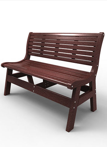 48″ BENCH WITH BACK MNEW-BWB48 $459.00 CLICK FOR AVAILABLE COLORS