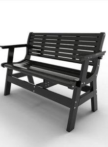 48″ BENCH WITH BACK & ARM MNEW-BWB48A $499.00 CLICK FOR AVAILABLE COLORS