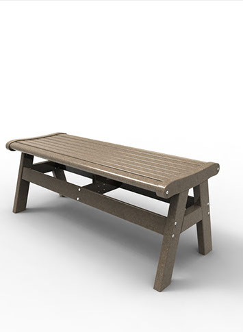 48″ BACKLESS BENCH MNEW-B48 $319.00 CLICK FOR AVAILABLE COLORS