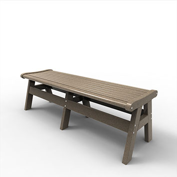60″ BACKLESS BENCH MNEW-B60 $339.00 CLICK FOR AVAILABLE COLORS
