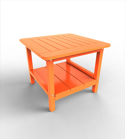 24″ SQUARE END TABLE MENT-24 $199.00 CLICK FOR AVAILABLE COLORS