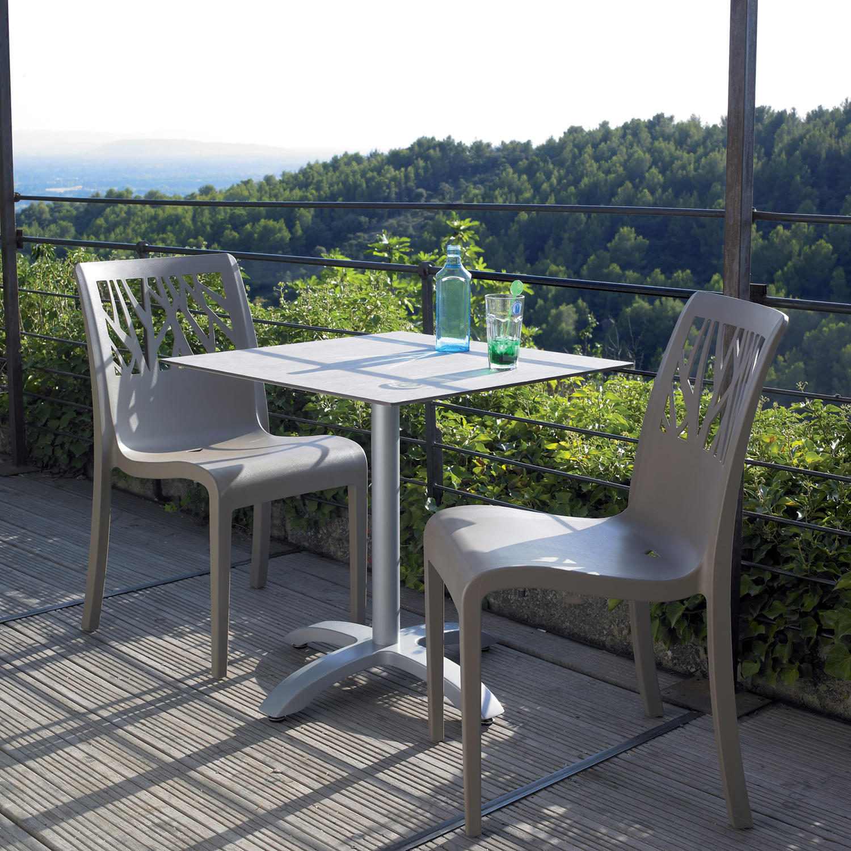 Grosfillex Outdoor Miami Bistro Patio Chairs