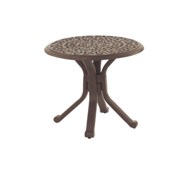 SIENNA RD END TABLE DCP24 $399.00