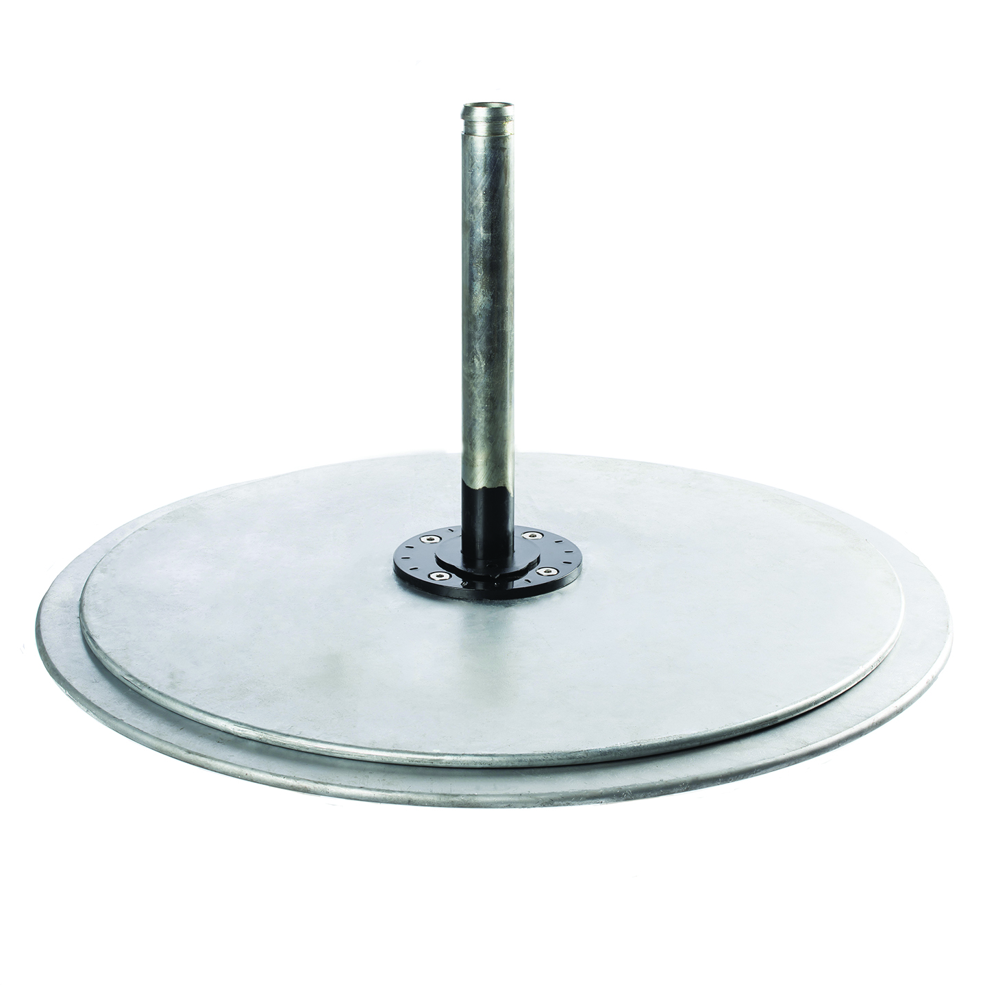 Galvanized Steel Round Base Double Stack(335 pounds)