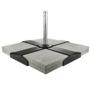 Cross Base Shown With Patio Block(not included)