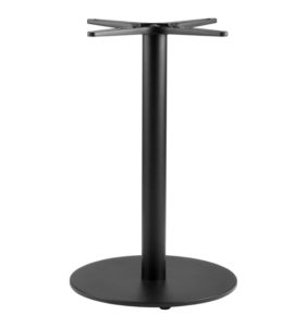 LAREDO SM RD TABLE BASE-SILVER RC2128 $199.00 BAR HEIGHT RC2128 & RC2129 $269.00 CLICK FOR SPEC SHEET