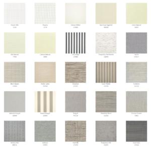 Tropitone Cushion Fabrics 1