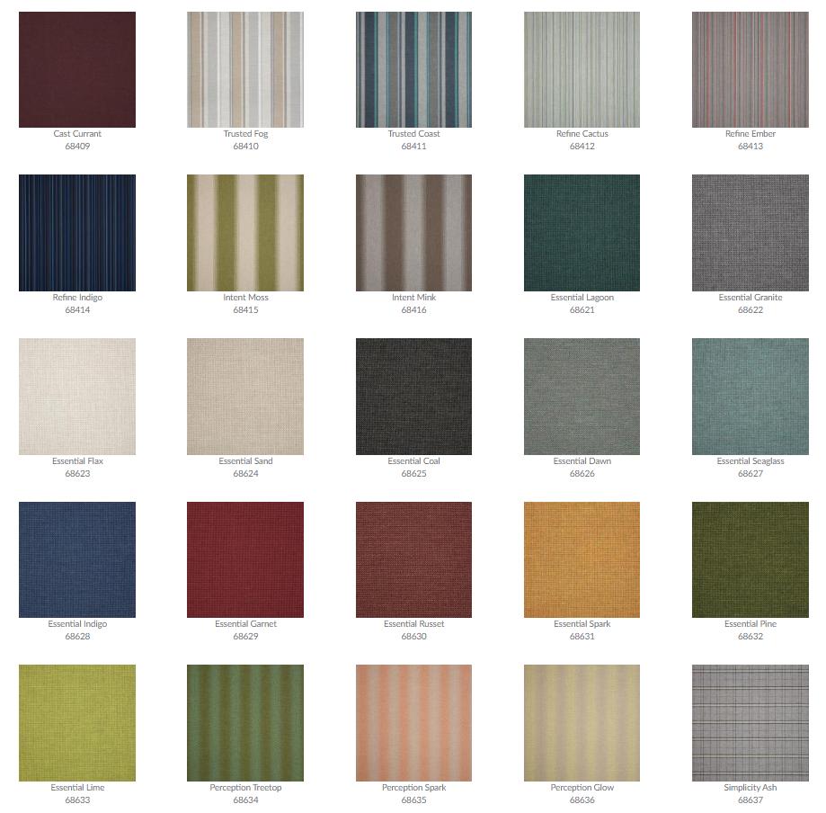 Tropitone Cushion Fabrics 17