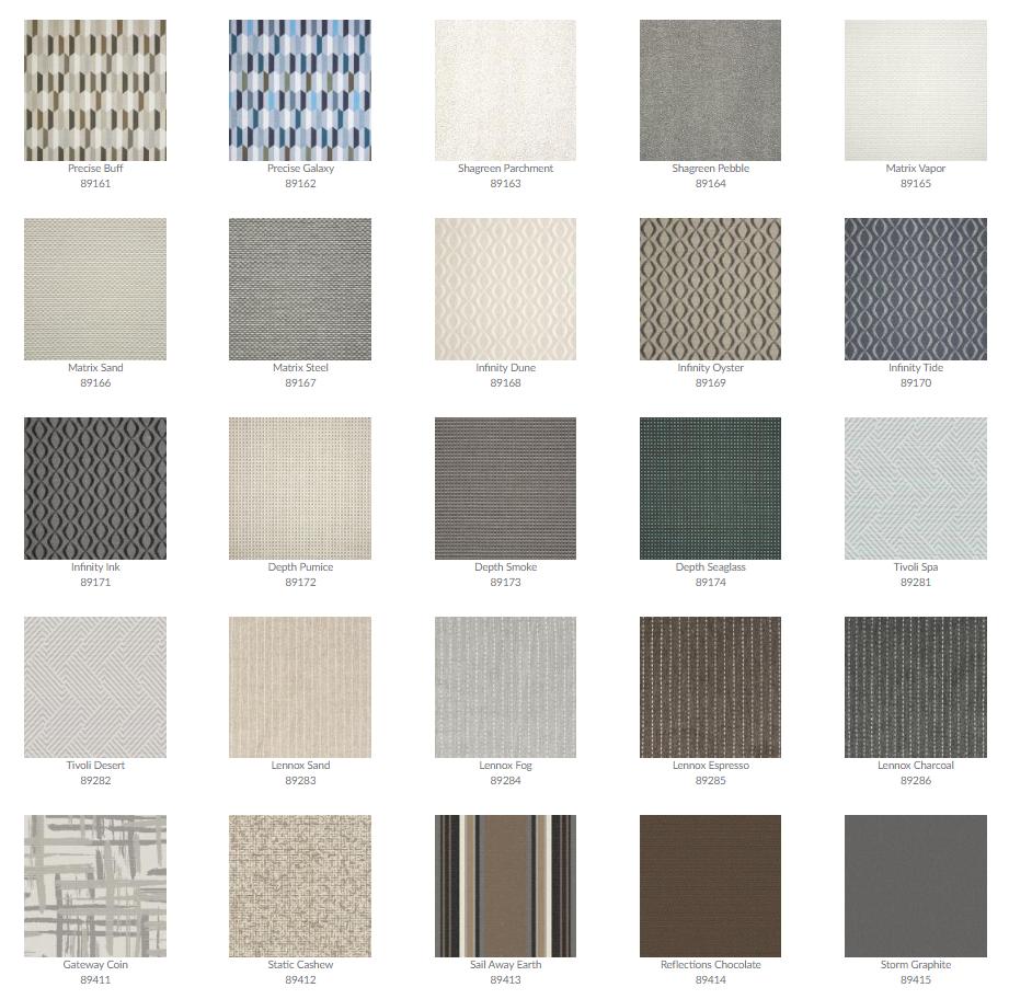 Tropitone Cushion Fabrics 21