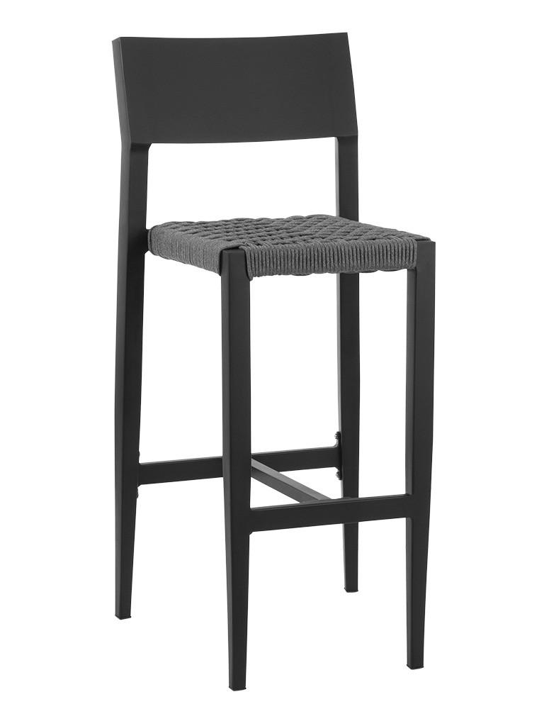 BIMINI ARMLESS BAR STOOL-BLACK/CHAR RC2004-B $239.00 CLICK FOR SPEC SHEET