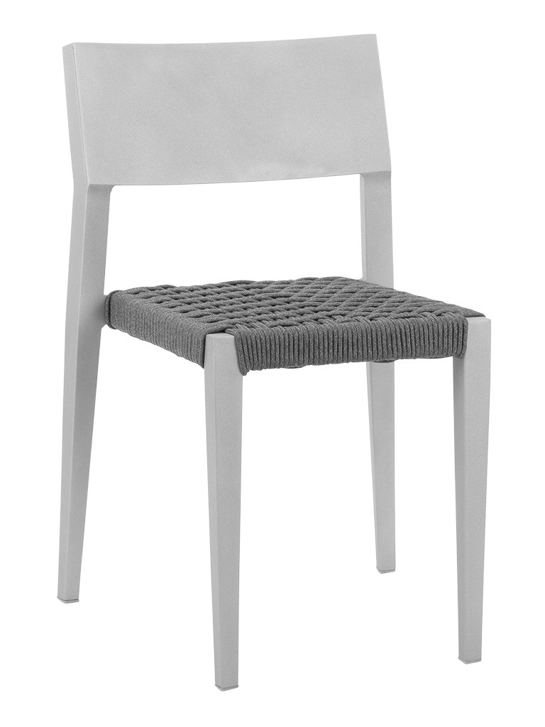 BIMINI SIDE CHAIR-SILVER/CHAR RC2003-S $159.00 CLICK FOR SPEC SHEET