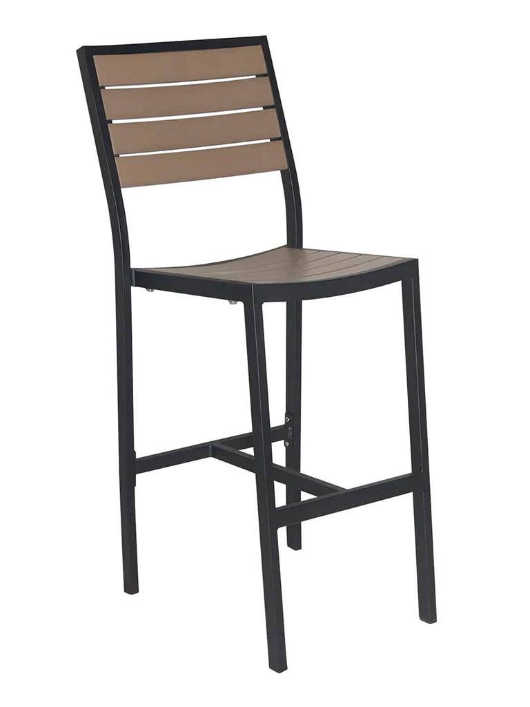 CARMEL ARMLESS BAR STOOL-BLACK/GRAY RC2053-BG $239.00 CLICK FOR SPEC SHEET