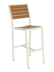 CARMEL ARMLESS BAR STOOL-CHAMP/TEAK RC2053-CT $239.00 CLICK FOR SPEC SHEET