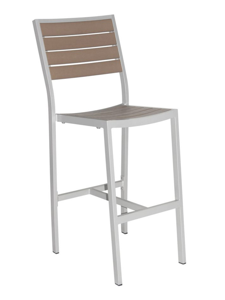CARMEL ARMLESS BAR STOOL-SILVER/GRAY RC2053-SG $239.00 CLICK FOR SPEC SHEET