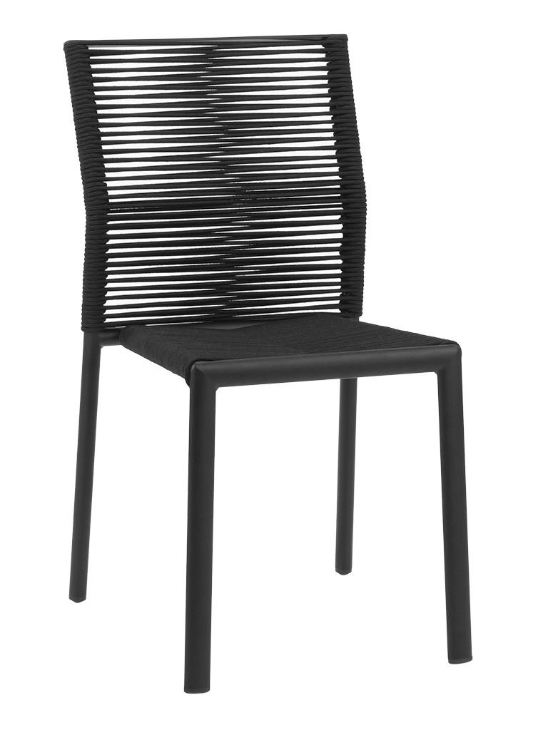 CHARLESTON SIDE CHAIR-BLACK RC2000-B $159.00 CLICK FOR SPEC SHEET