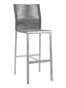 CHARLESTON ARMLESS BAR STOOL-CHARCOAL RC2002-C $219.00 CLICK FOR SPEC SHEET