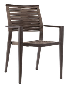 KEY WEST ROPE ARM CHAIR-BRONZE RC2012-B $179.00 CLICK FOR SPEC SHEET