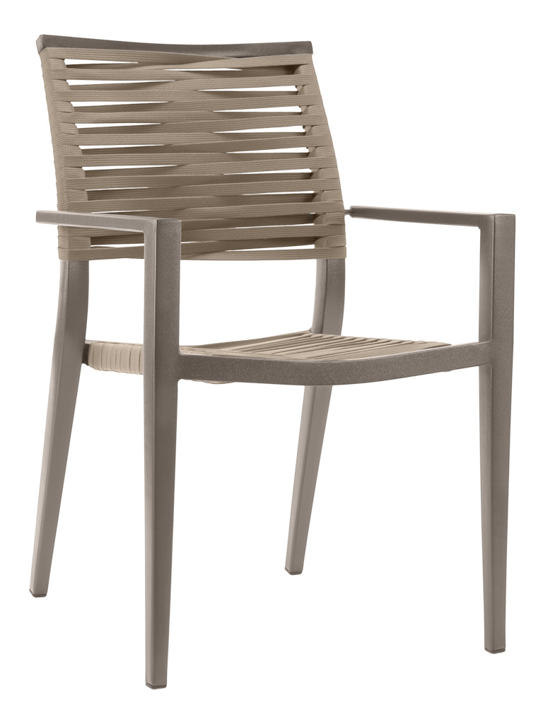 KEY WEST ROPE ARM CHAIR-PEWTER RC2012-P $179.00 CLICK FOR SPEC SHEET