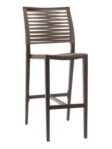 KEY WEST ROPE ARMLESS BAR STOOL-BRONZE RC2014-B $219.00 CLICK FOR SPEC SHEET
