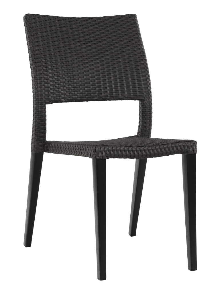 KEY WEST WEAVE SIDE CHAIR-BLACK RC2009-B $139.00 CLICK FOR SPEC SHEET